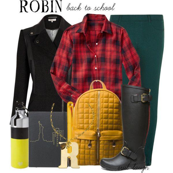 Robin (Batman) -- Back to School