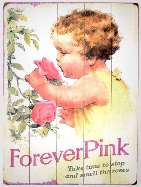 forever pink...