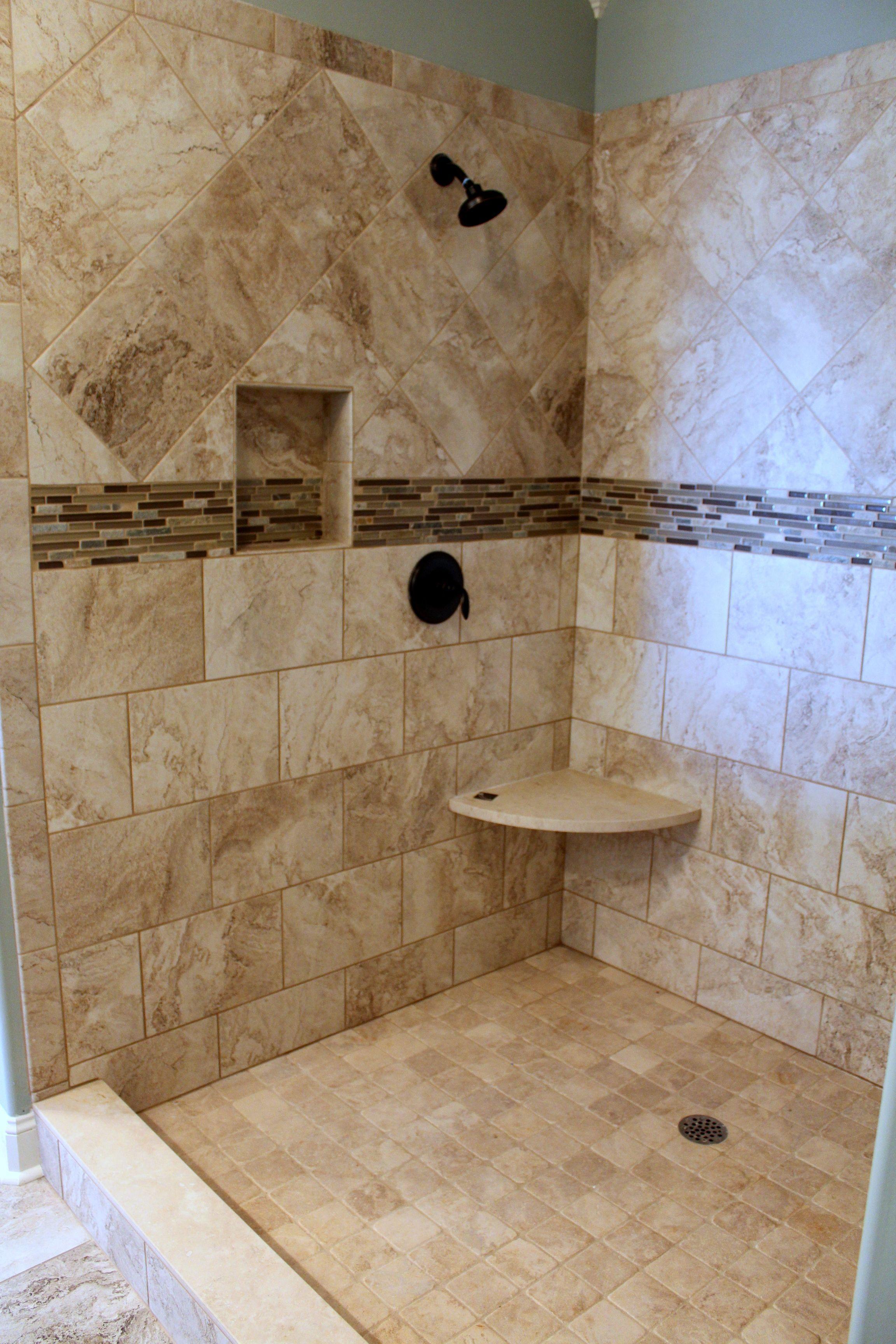 bathroom tile border ideas variant