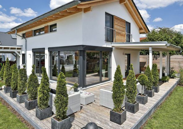 Maison - Maison Bruckberg - Designhaus - 345000 euros - 132 m2 - modeles de maison a construire