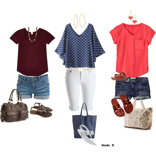 Easy summer wear-Over 40 Fashion by sheila-r on Polyvore featuring ...