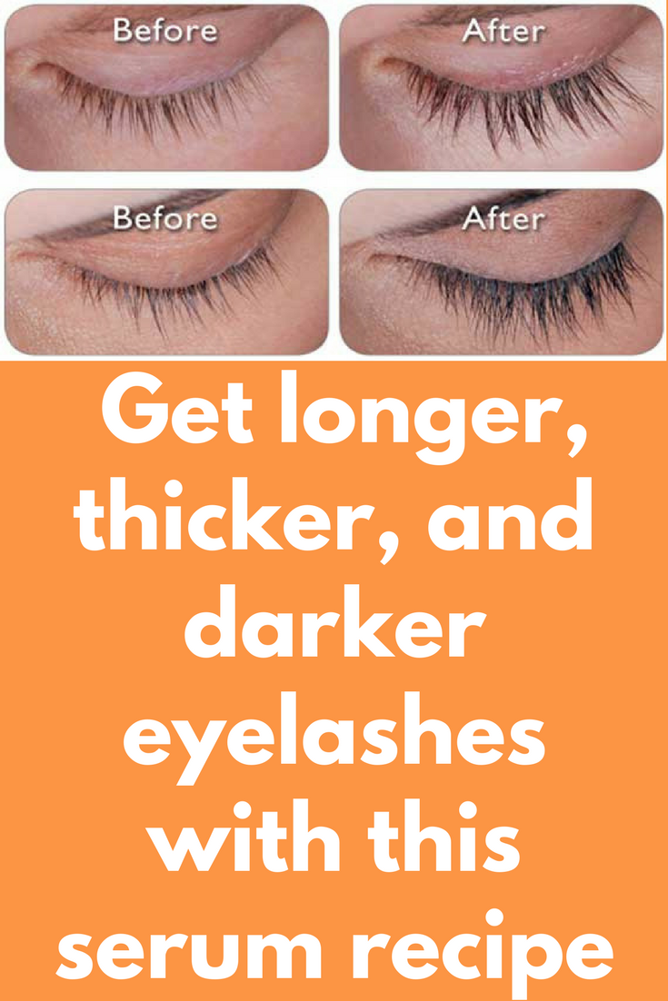 Get longer, thicker, and darker eyelashes with this serum ...