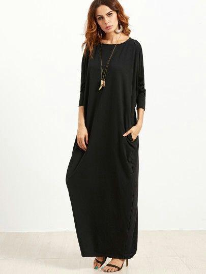 Maxi robe noire