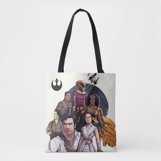 The Resistance Fighters Illustration Tote Bag