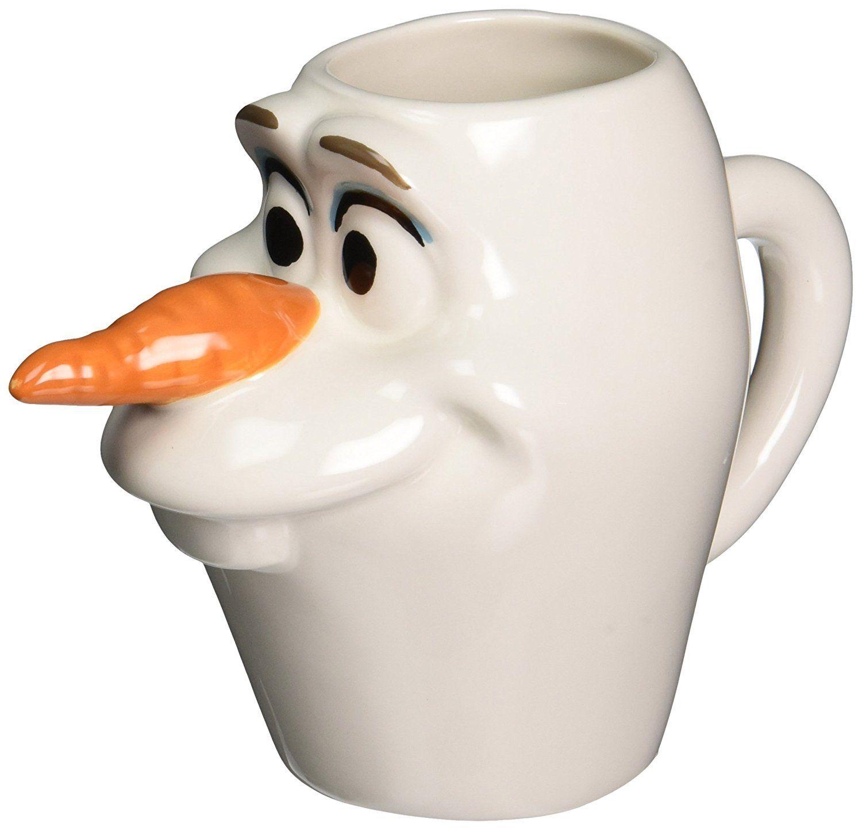 Disney Olaf Ceramic Coffee Mug Frozen 12 oz