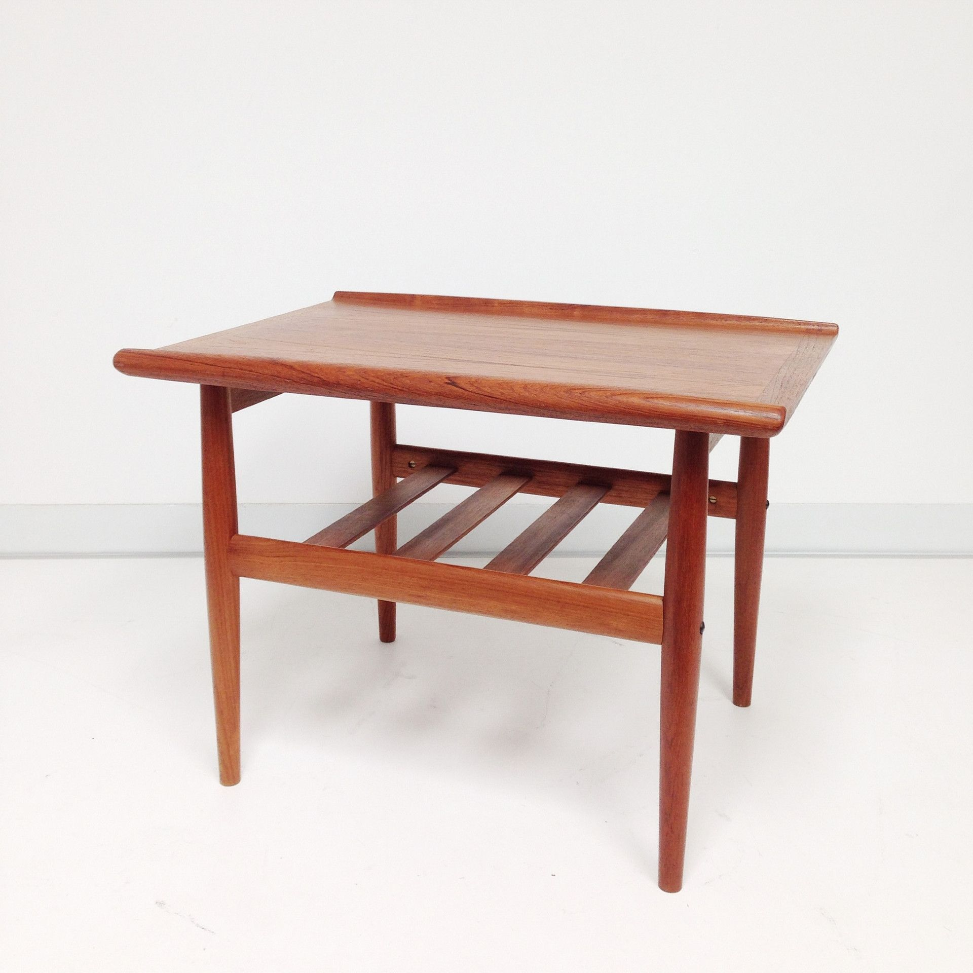 GRETE JALK TEAK END TABLE