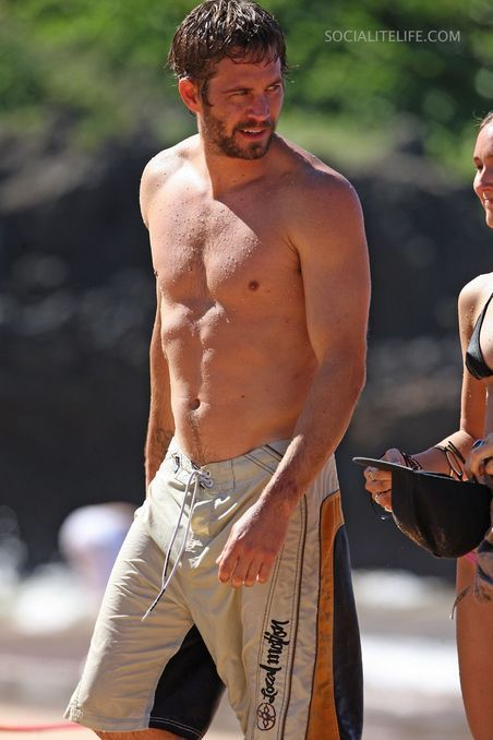 Strange Shades of Grey: Paul Walker Nude