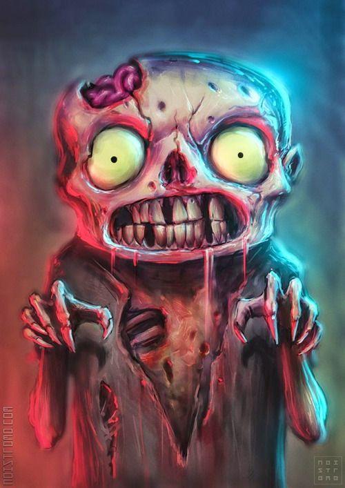 Citaten Kunst Zombie : Little bugger untitled pinterest gruselig