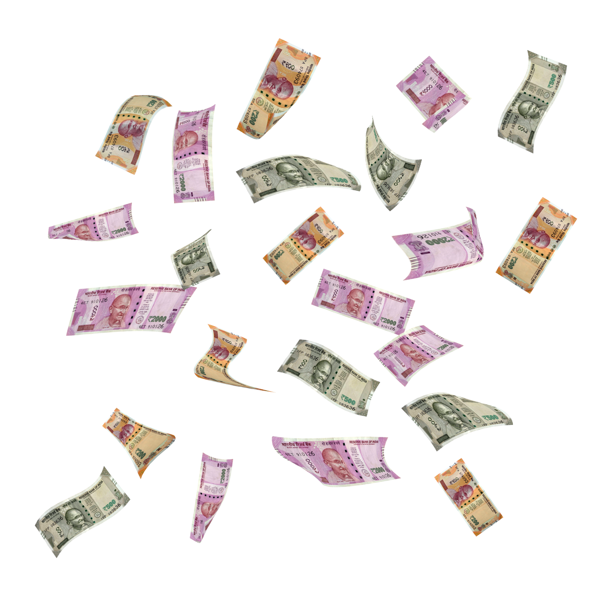 Indian Currency Flying Money Images Money Logo Money Poster