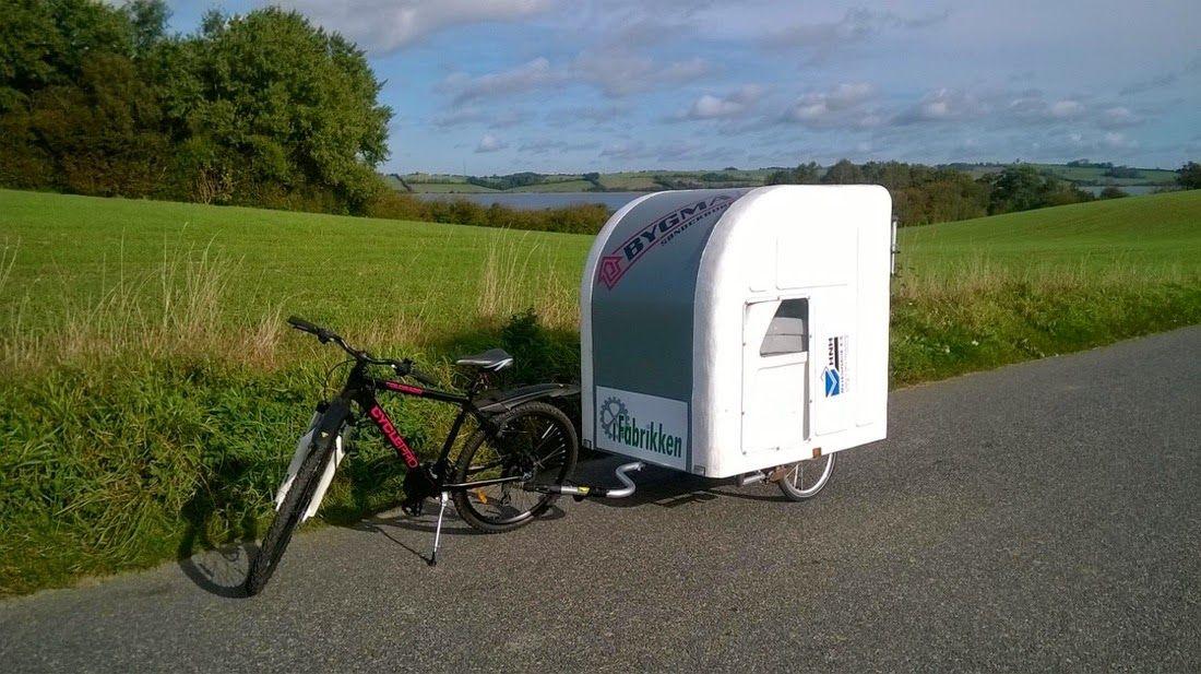 Wide Path Camper Fahrrad Wohnwagen Aus Danemark Fahrrad