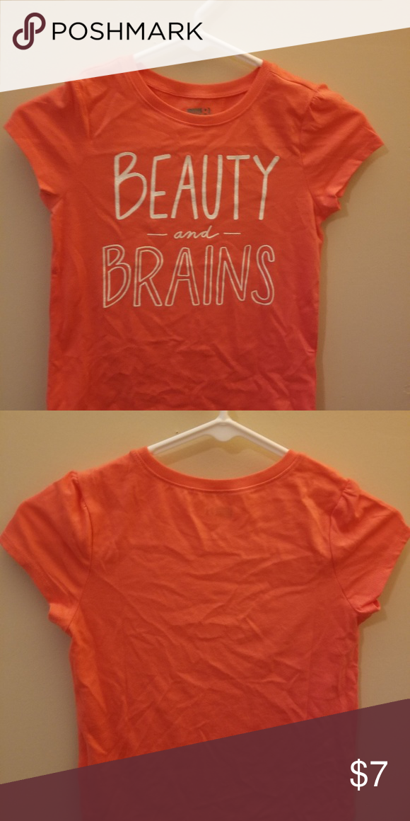 abfba769c Crazy 8 Beauty and Brains girls shirt Never worn size medium (7-8) girls Crazy  8 shirt. Crazy 8 Shirts & Tops Tees - Short Sleeve
