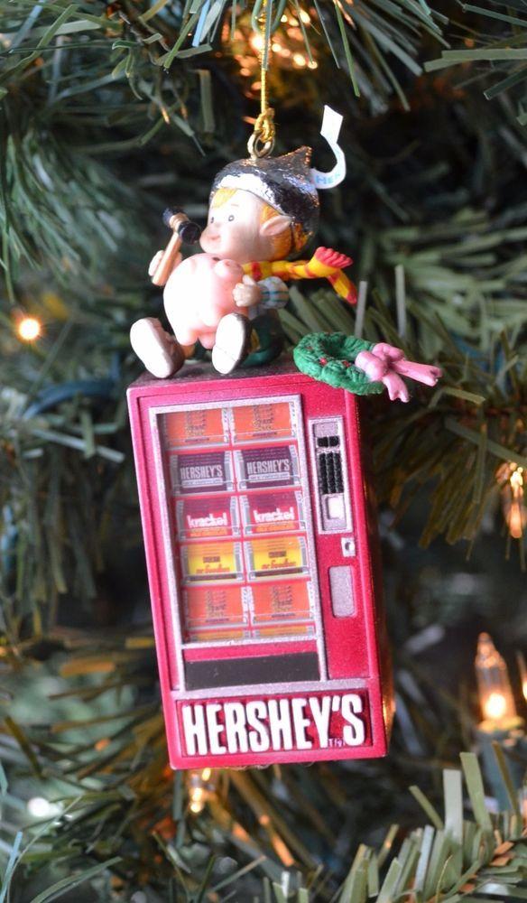 Christmas Ornament - Hershey's 1996 Collectible Ornament - Christmas Ornament - Hershey's 1996 Collectible Ornament Christmas