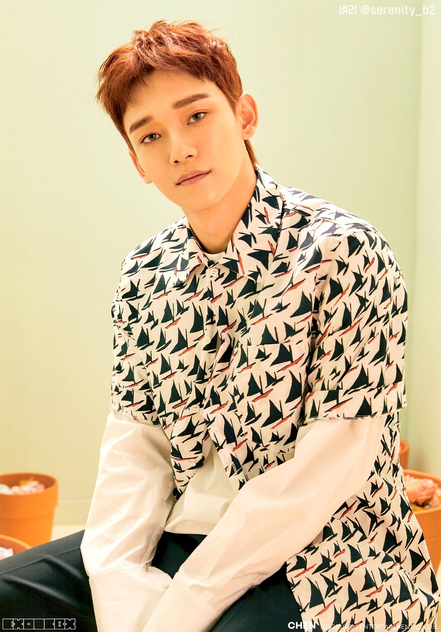Chen  SCAN   EXO-CBX Blooming Days  712cb9c84e96