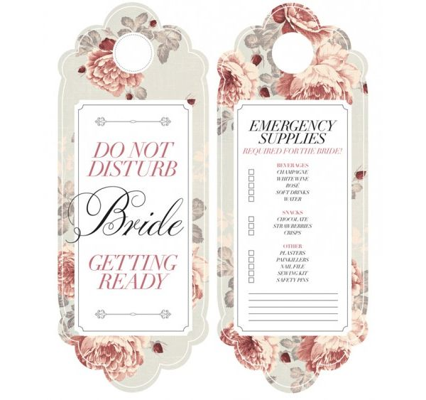 wedding printables - Google Search Wedding 6-30-13 Pinterest - do not disturb door hanger template