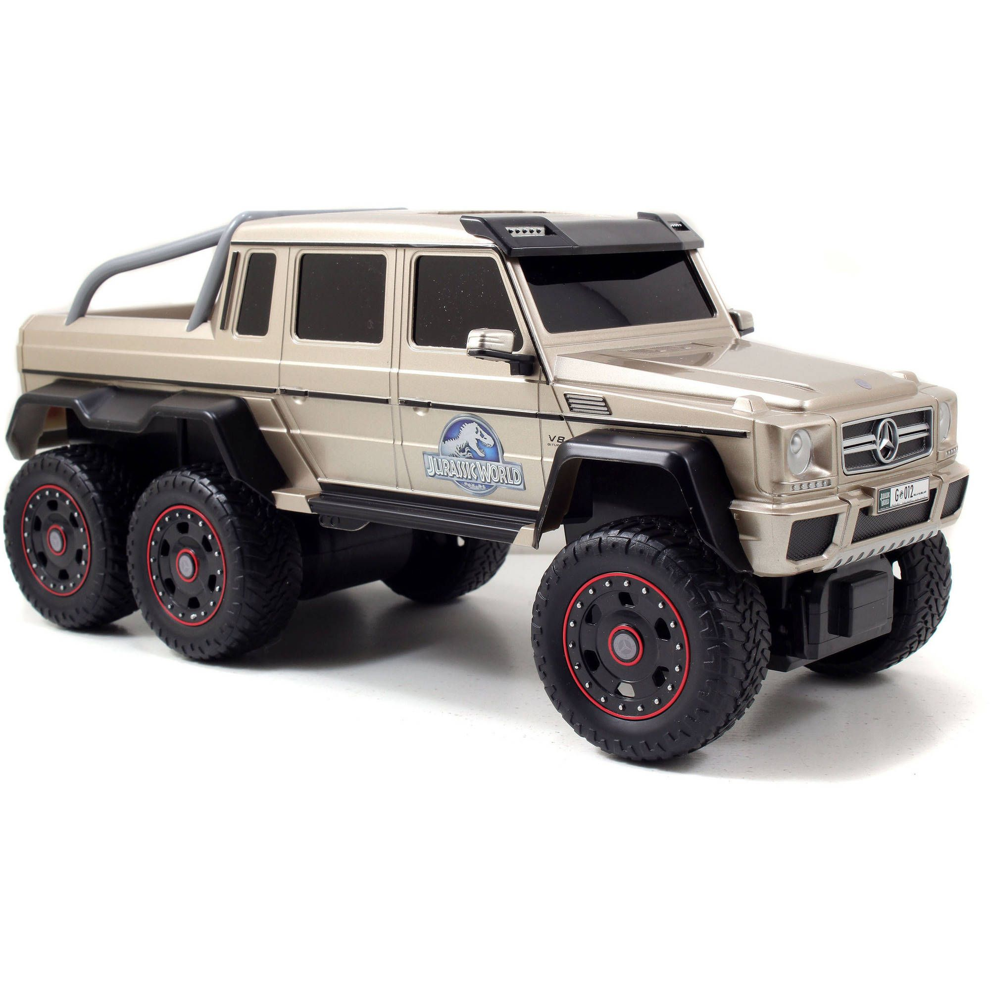 Jurassic World Mercedes-Benz G63 AMG 6X6 R/C Vehicle - Walmart com