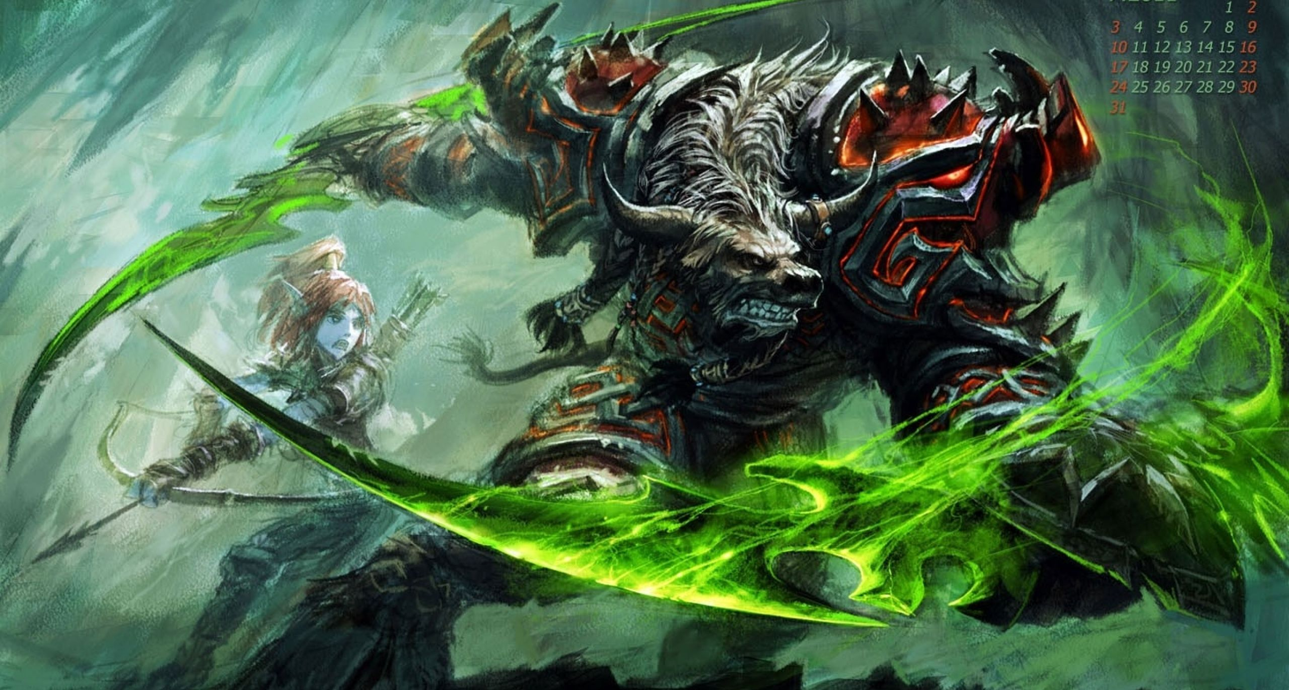 Hearthstone Podcast Rogue And Hunter Cards Elves Fantasy World Of Warcraft Wallpaper World Of Warcraft