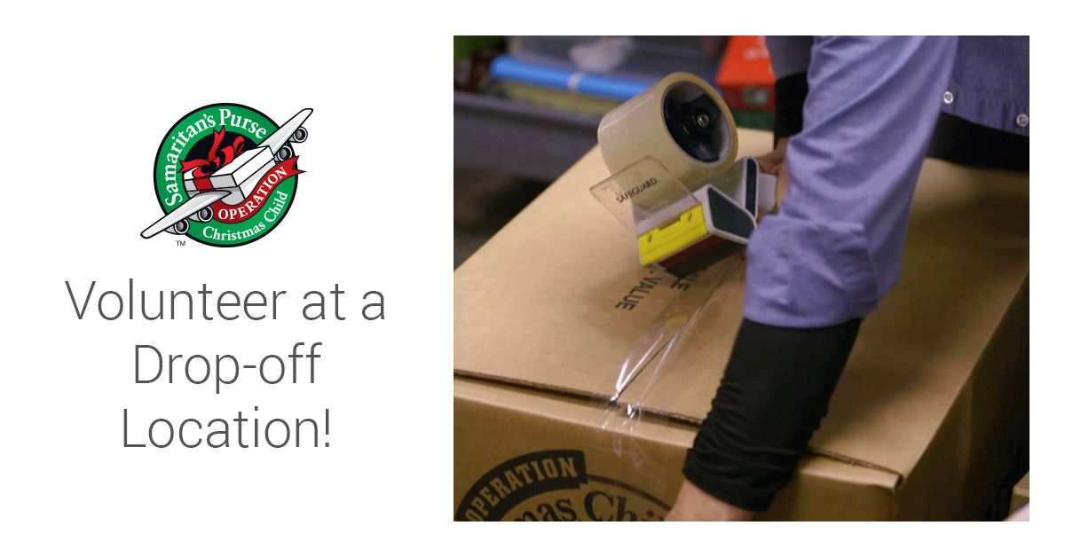 Volunteer at a Drop-off Location | Operation christmas child, Kids christmas, Operation christmas