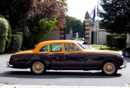 1960 Bentley S2 Continental Flying Spur In Veuve Clicquot Color Scheme Autos