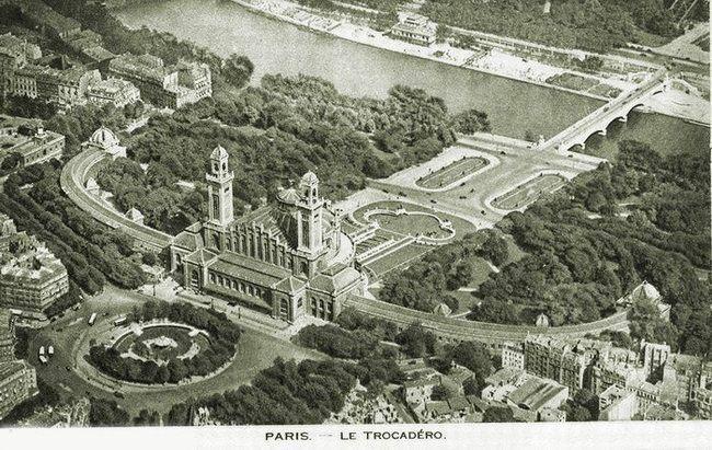 Париж, Трокадеро | Картинки парижа