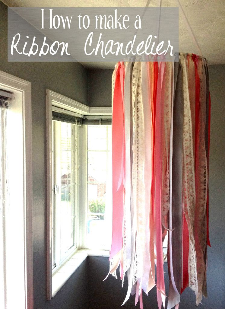 get on you bad oh diy are and good the ribbon matterns glued color very these wall not always in idea meet looks photos chandelier well pictures img mobile