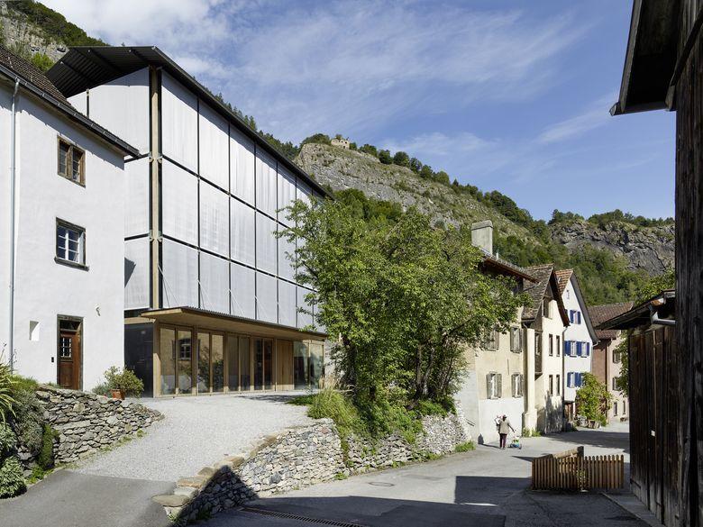 Neues Atelier Süsswinkel 17, Atelier Peter Zumthor