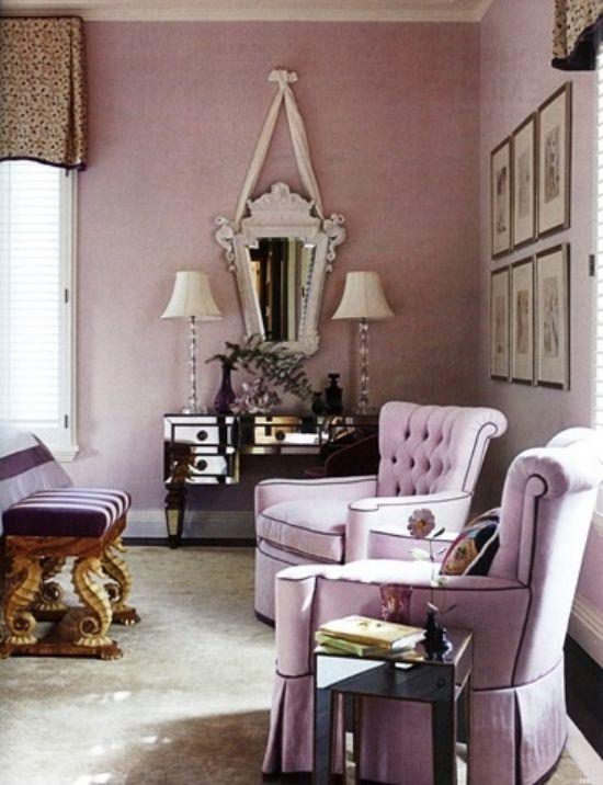Schlafzimmer gestalten fliederfarbe  renaissance stil schlafzimmer gestalten in fliederfarbe ...