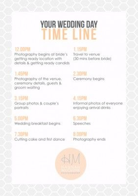 How Do I Plan My Wedding Day Timeline Ask A Pro Serendipity