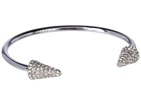 Juicy Couture Pave Spike Skinny Bangle Silver - Zappos.com Free Shipping BOTH Ways