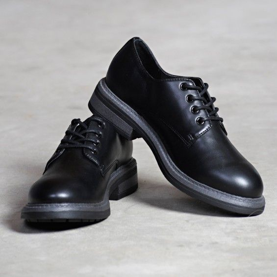7 Dials Shoes Devi Black Oxford