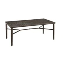 Canvas Coventry Hills Rectangular Patio Dining Table Adds A