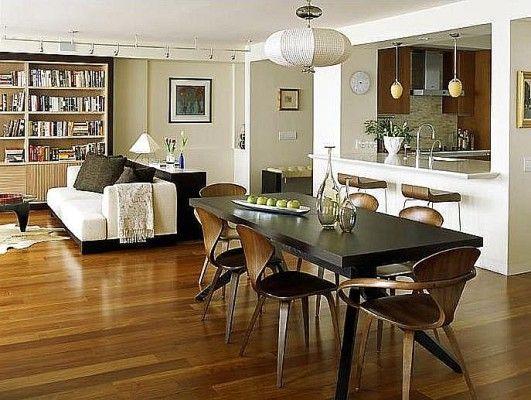 Foto Contoh Ide Warna Cat Untuk Ruang Tamu Dan Makan Teranyar Gambar 23110