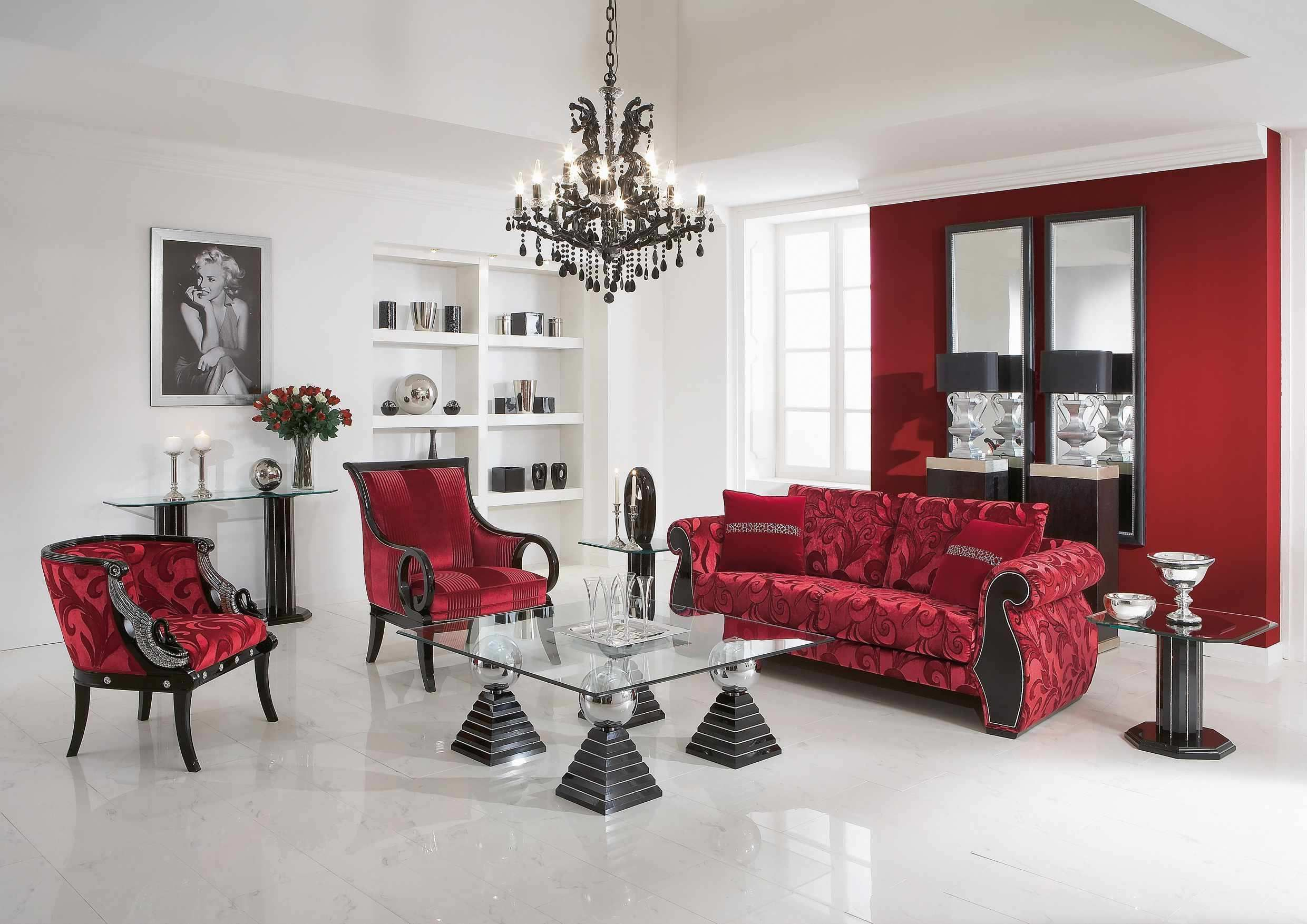 Pin By Princess Buttercup On Home Interior Elegant Living Room Feminine Living Room Living Room Red #red #living #room #set #ideas