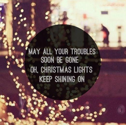 christmas lights lyrics # 10