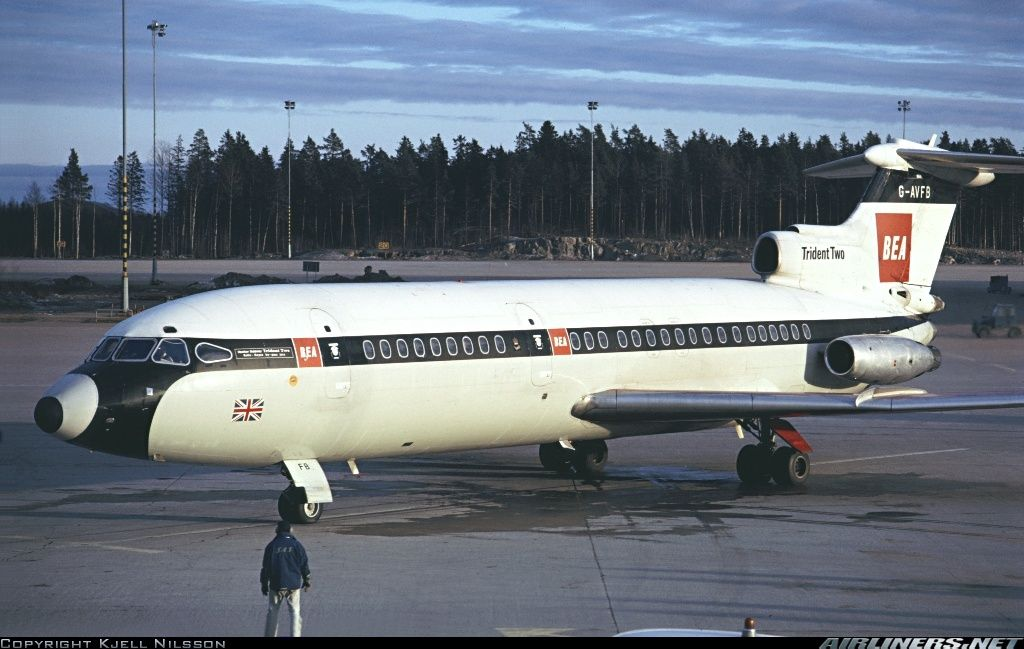 Hawker Siddeley HS-121 Trident 2E aircraft picture
