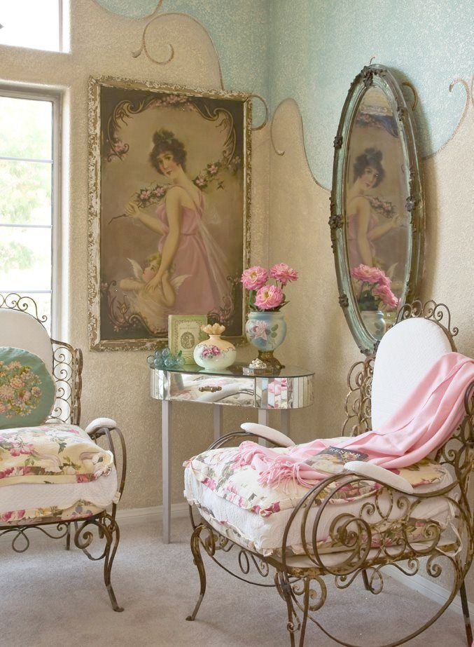 Trendy Vintage Chic Romantic Cosy Cottage Follow Shabby Chic