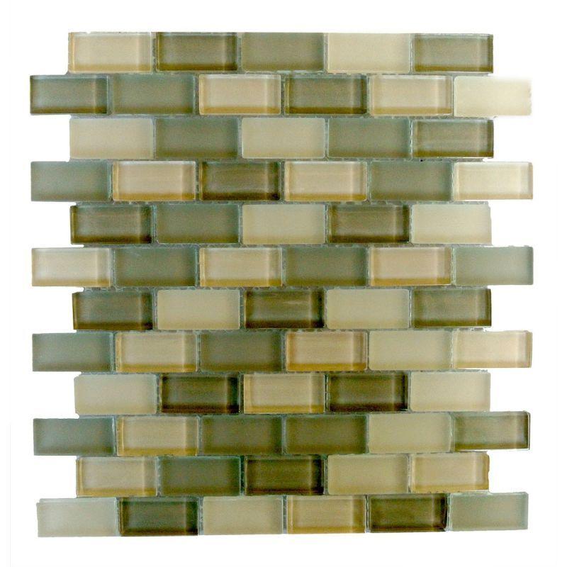 Miseno Mt Amadahy1x2 Glass Mosaic Tiles Mosaic Glass Mosaic Wall Tiles