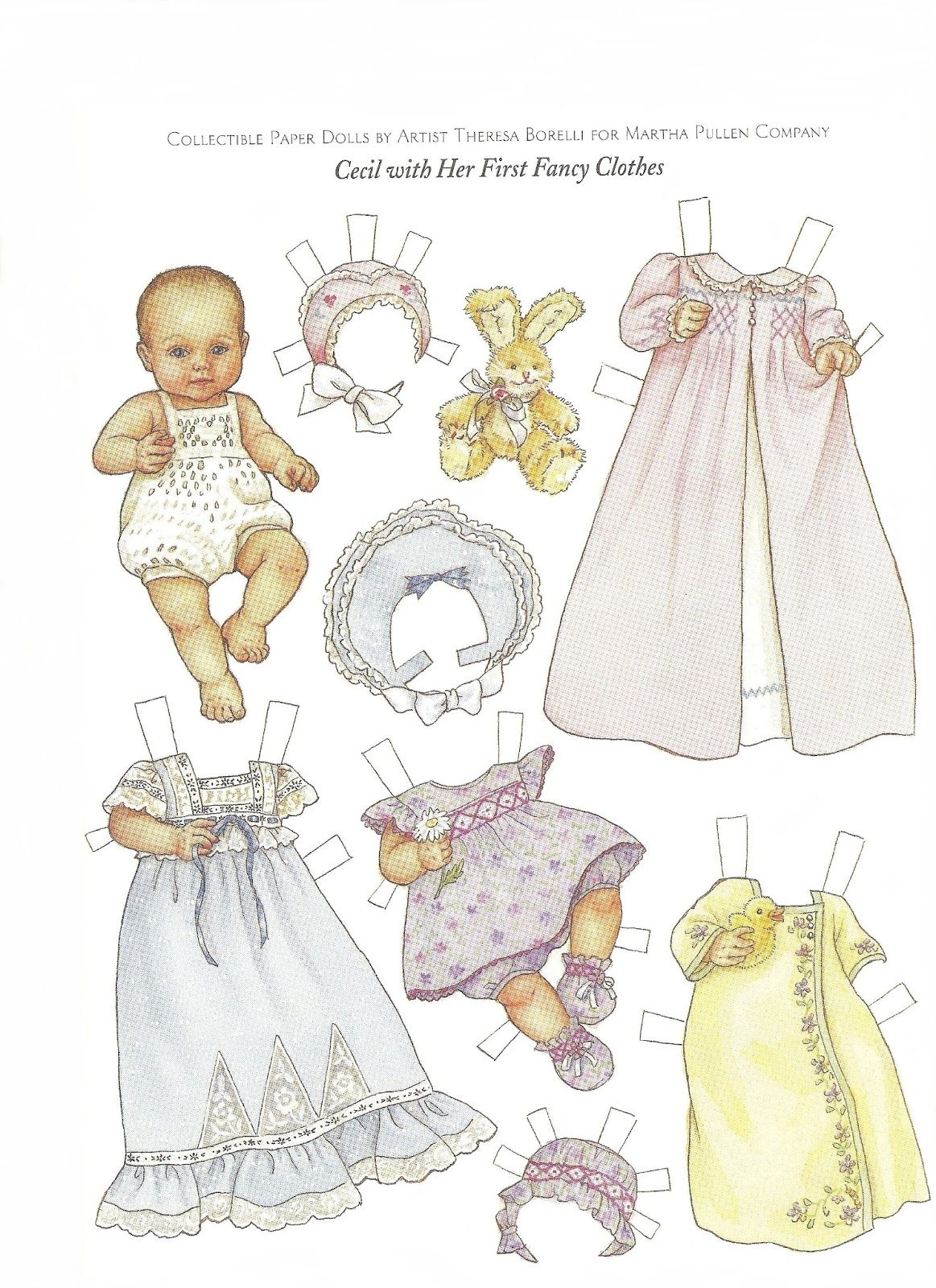 CECIL and Her First Fancy Clothes Paper Doll by Theresa ... - photo#42