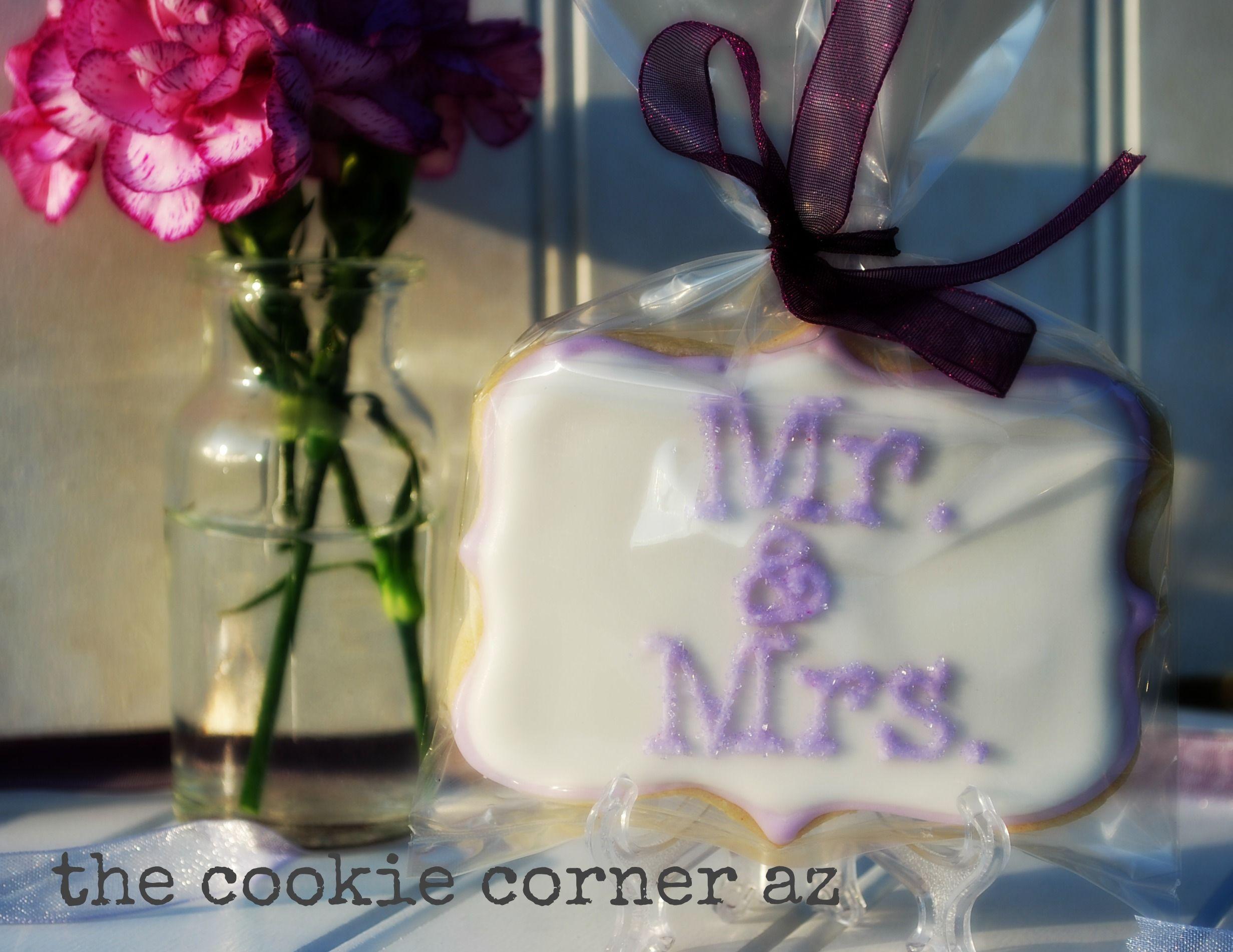 wedding cookie favors  wedding cookies