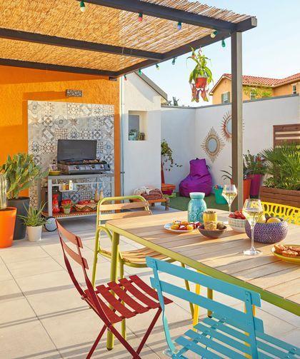 Salle à manger de jardin : des coins repas d\'extérieur ...