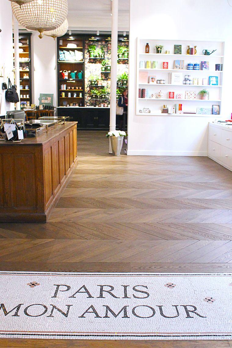 l 39 appartement sezane concept store parisien mosa que. Black Bedroom Furniture Sets. Home Design Ideas