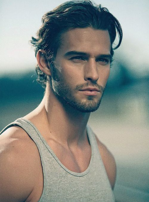 Mens Medium Length Hairstyles Prepossessing To Shave Or Not To Shave That Is The Question Pinterest