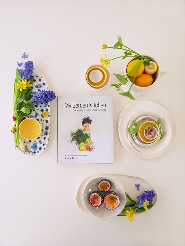~ WIN ~ The Forest Cantina's Garden Kitchen cookbook AND Wundaire ceramic serving platterfrom Fancy NZ Design Blog