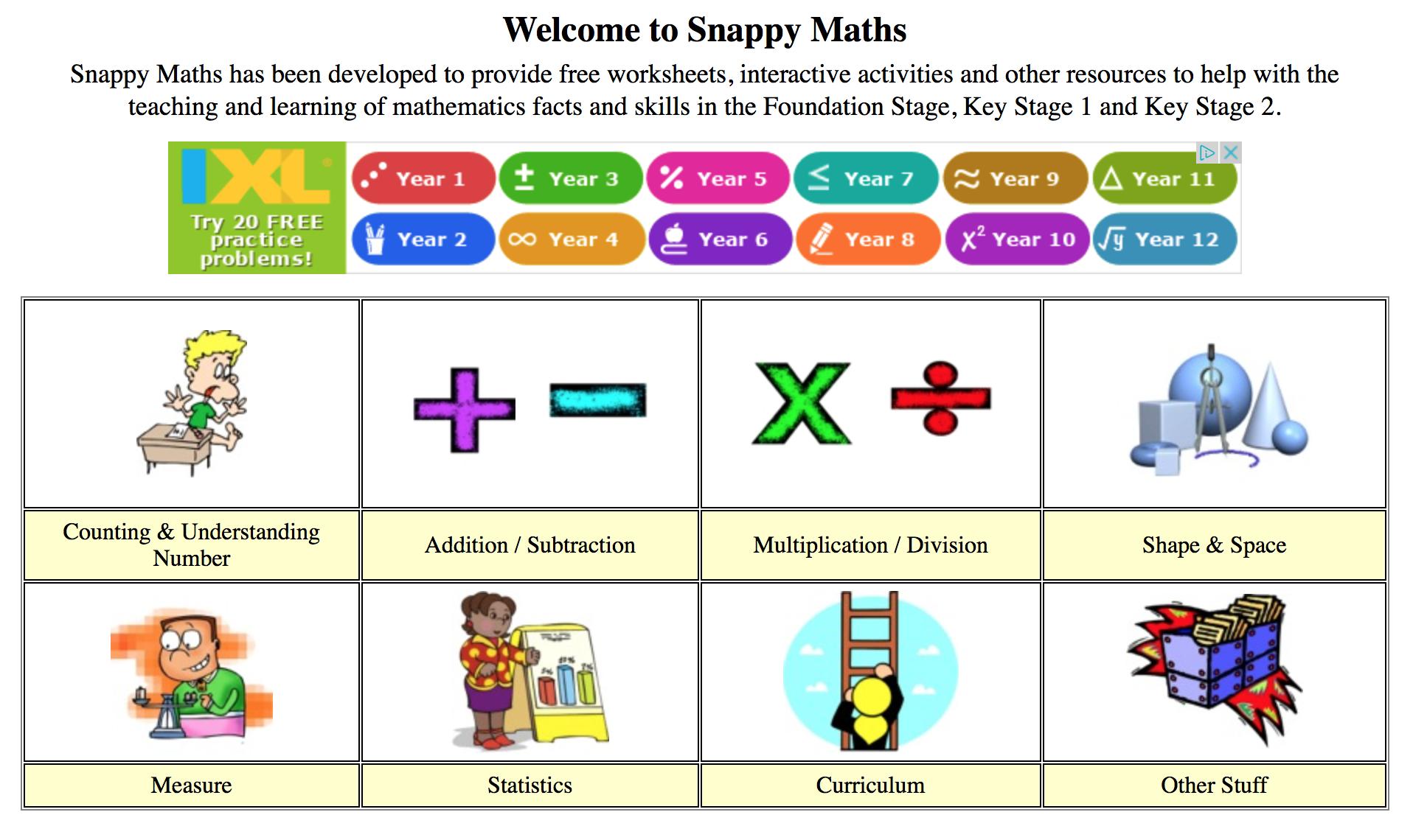 Snappymaths
