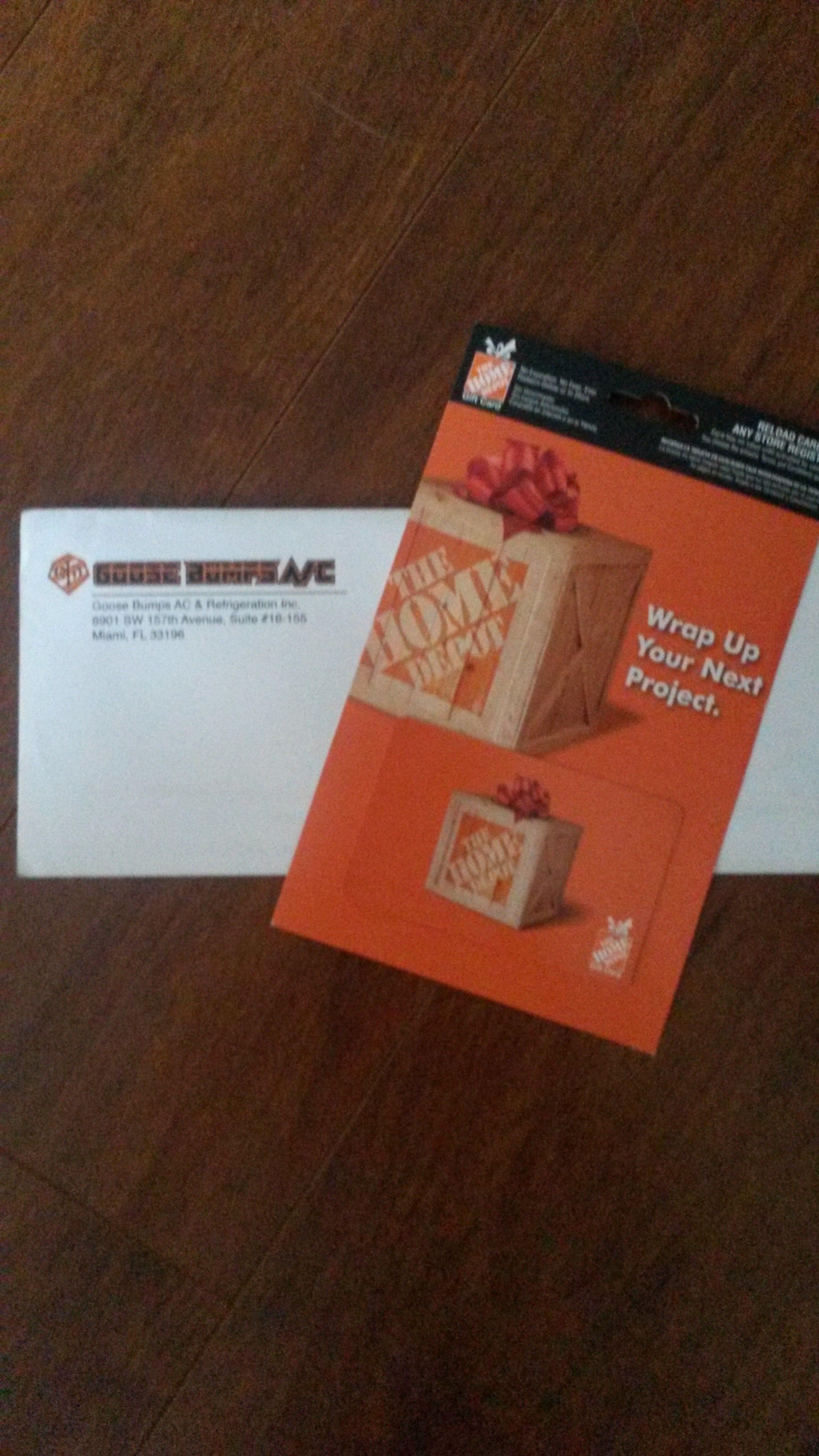 1000 home depot gift card