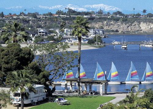 Newport Beach, CA - Luxury RV Park at Newport Dunes Over a mile of beachfront property