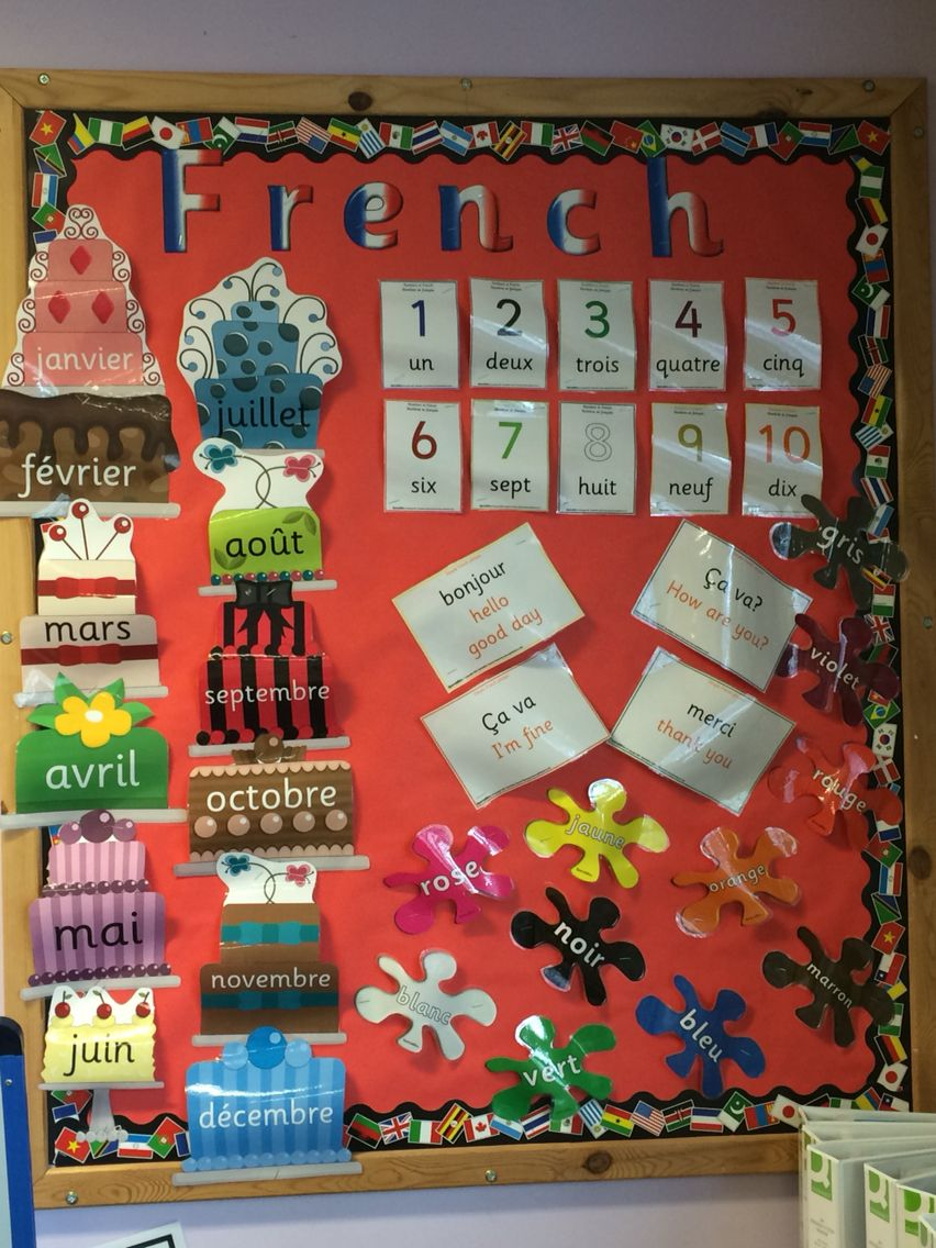 Classroom Display Ideas Ks2 ~ Display ks french … pinte…