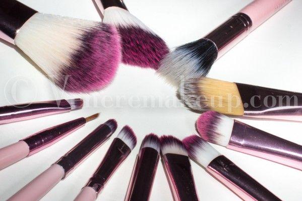 Fraulein3°8 Pink Candy Brushes Set