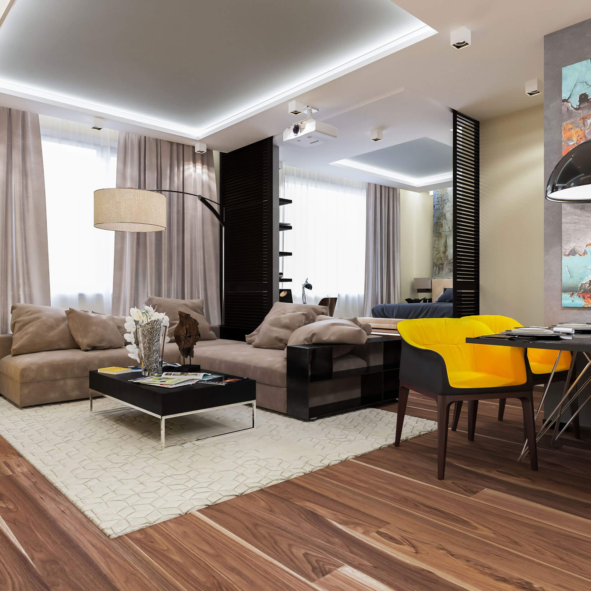 Apartment In Moscow By Interierium Decorating Ideas Moscow Interierium  Apartment. Find This Pin And More On Home Interior Design ...