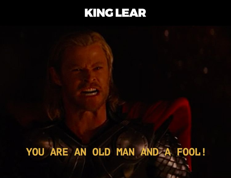 Shakespeare Plays as Described in Marvel Quotes ...