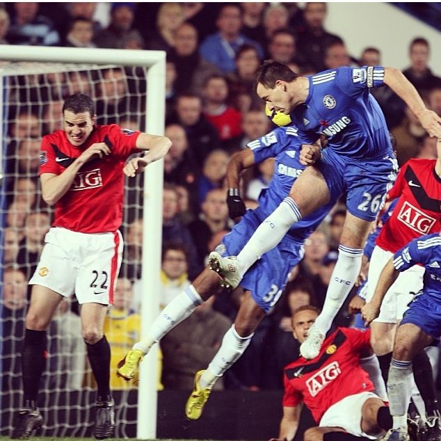 John Terry Chelsea vs Manchester United